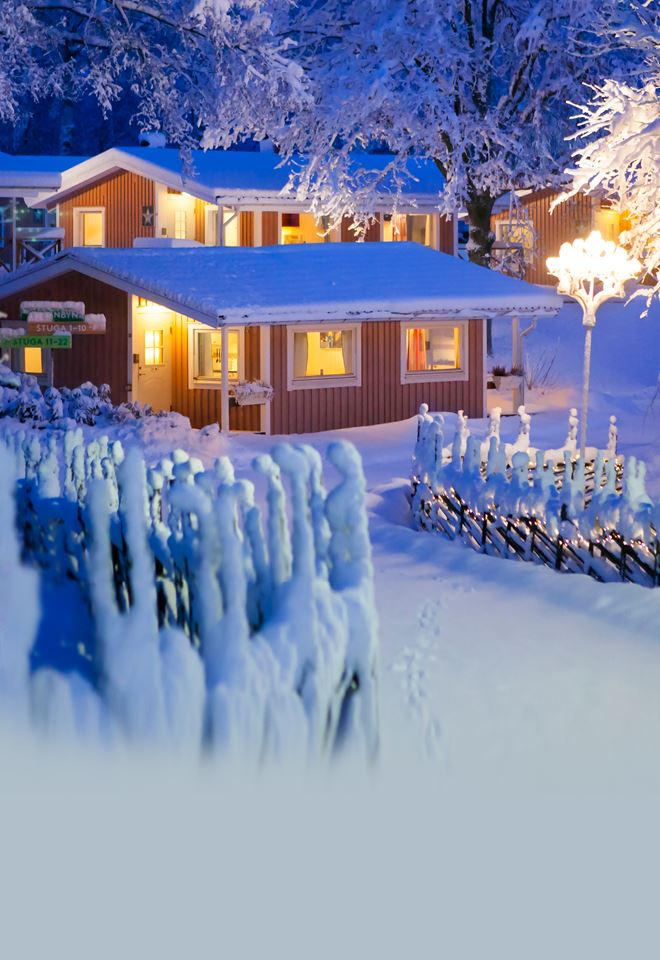 Christmas offer cabin - stay at Lisebergsbyn