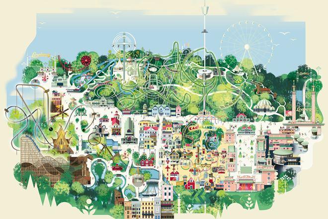 rondo göteborg karta The park | Liseberg rondo göteborg karta