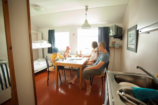 Hostel at Lisebergs camping Askim Strand
