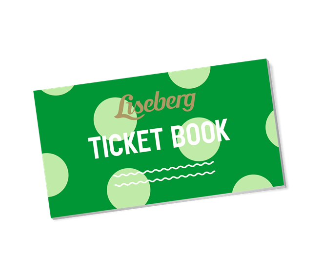 Liseberg ticket book 2020